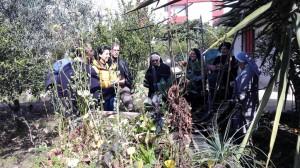 Visita al giardino della biodiversita'