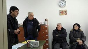 L'Equipe della farmacia solidale visita la farmacia della Parrocchia S. Ernesto