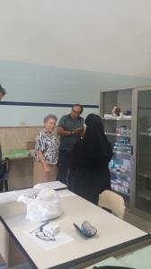 La Madre Generale visita la Farmacia Solidale